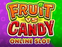 Der Spieleautomat Fruit vs Candy.