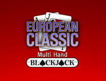 European Classic Multihand Blackjack vom Software Hersteller Oryx Gaming.