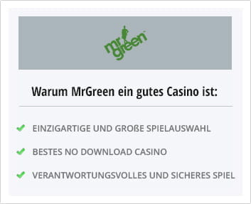 mr green online casino malta