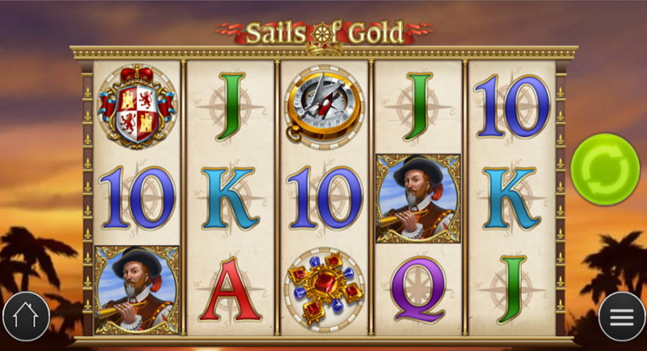 Der Spielautomat Sails of Gold ist die beste Alternative zu Novolines Columbus Slot
