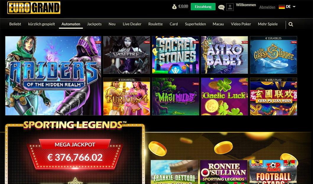 Eurogrand casino geld verdienen how to master roulette machines