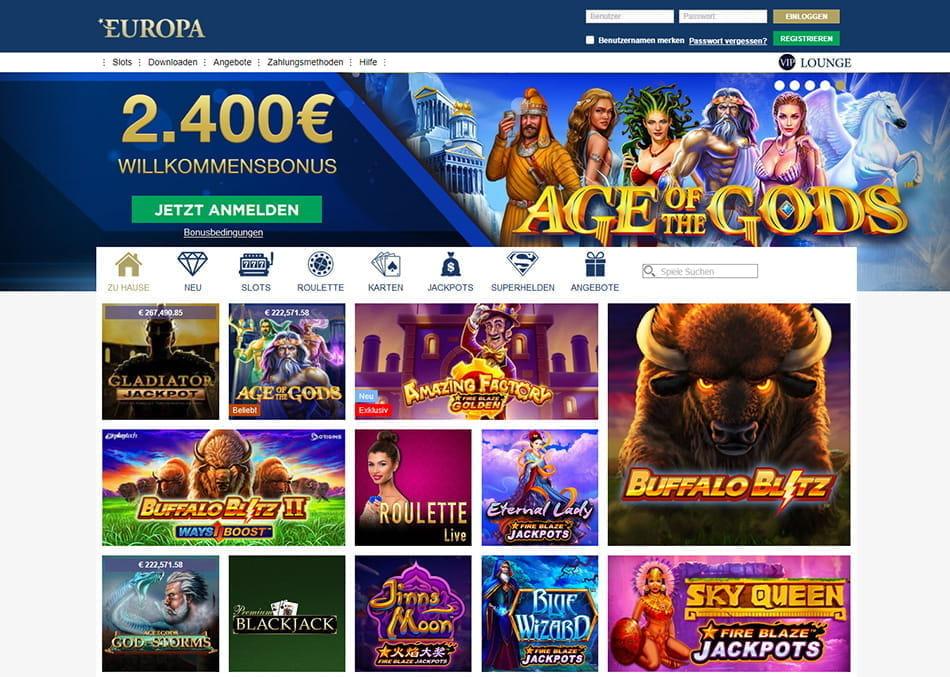 Beste casinos europa