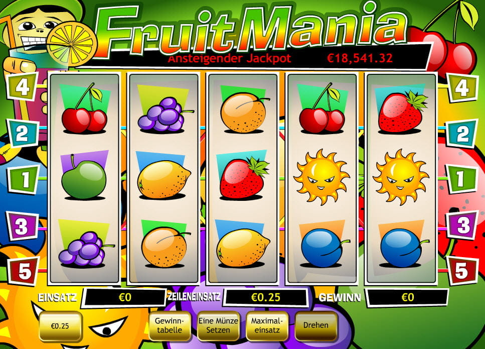 casino online list früchte spiel