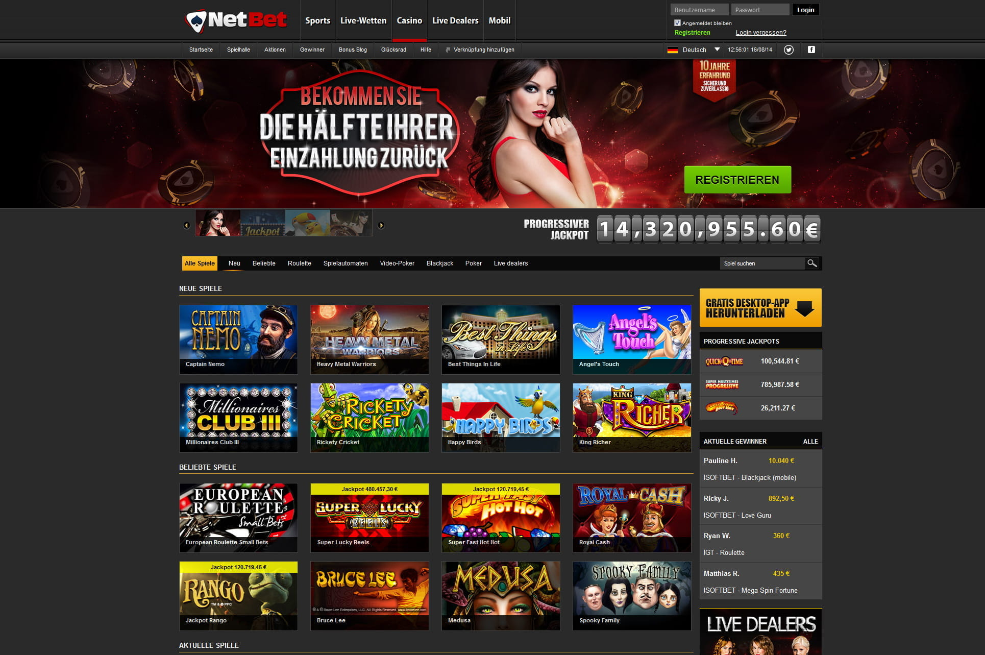 100 casino spielen top gambling school seattle