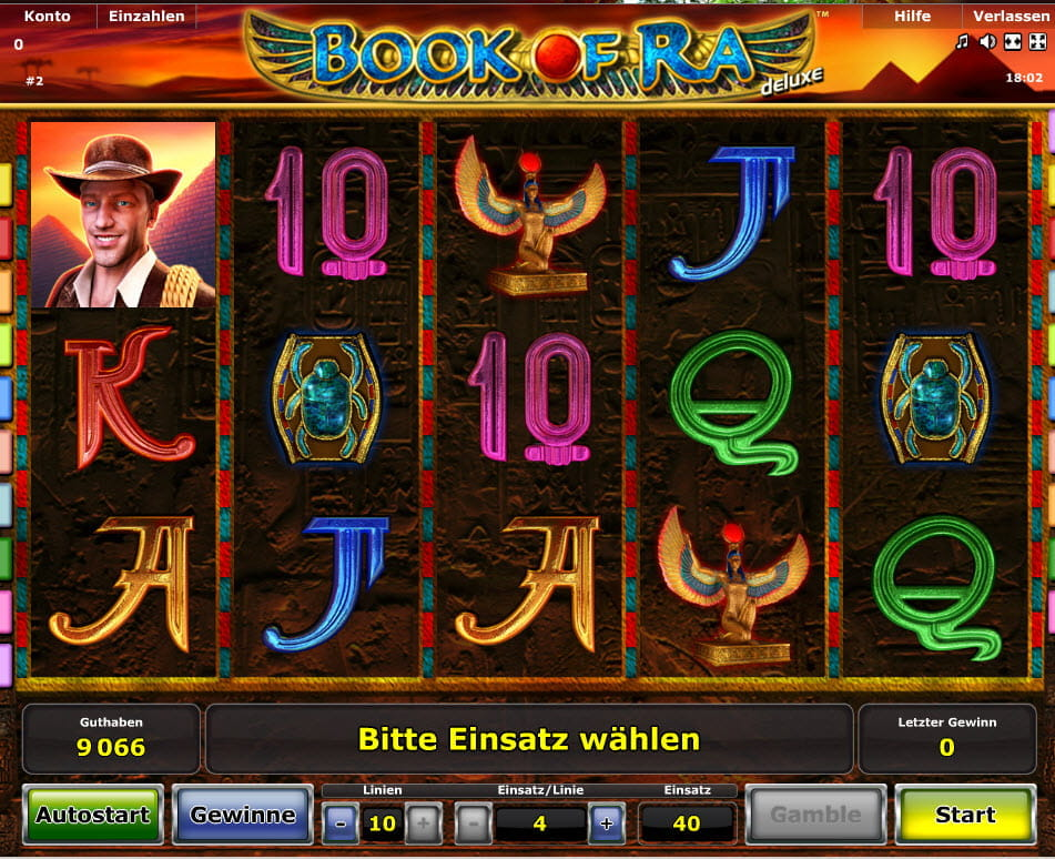 book of ra spielautomaten