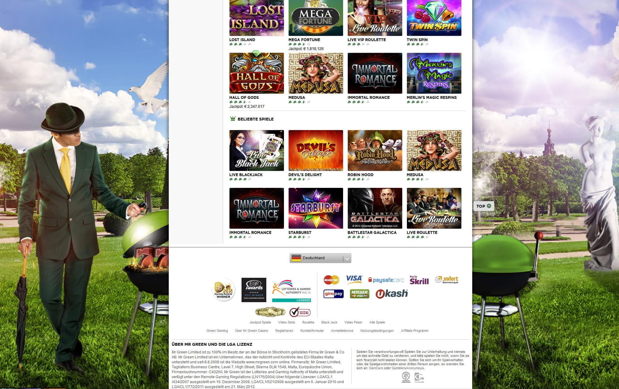 online casinos angebote