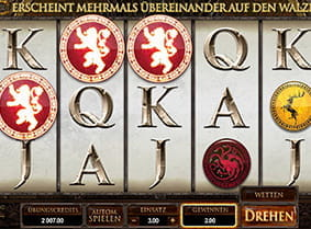 Vorschaubild Game of Thrones Slot