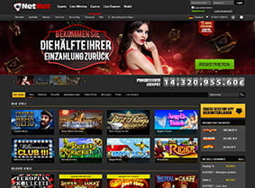 Webseite Preview Netbet Casino