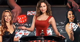 Der Dealer im Playamo Live Casino.