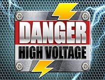 Der Slot Danger High Voltage.