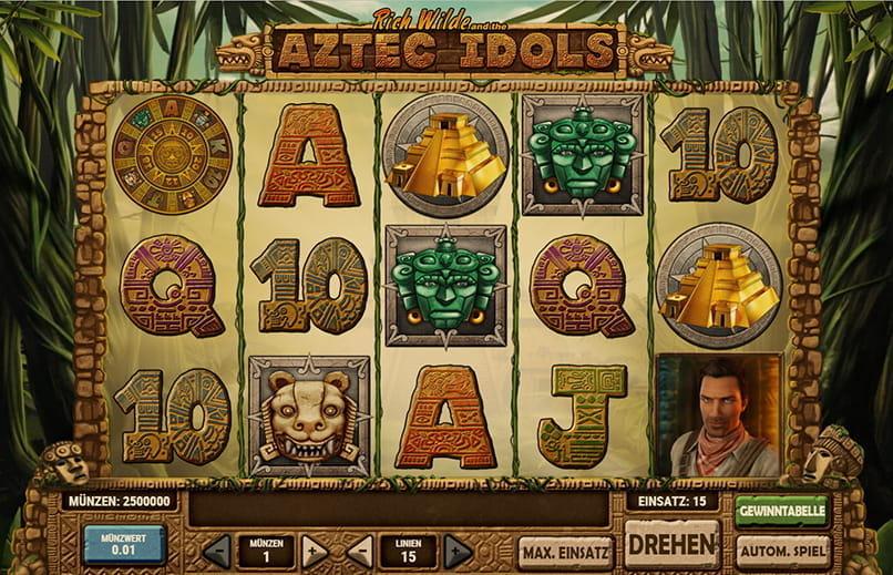 Spielen Sie Aztec Idols Kostenlos Im Demo Mode Von PlayN GO
