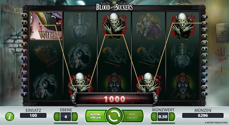 Blood Suckers slots - spil Blood Sucker slots gratis online.