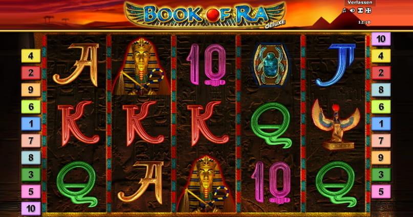 giocare alle slot book of ra gratis