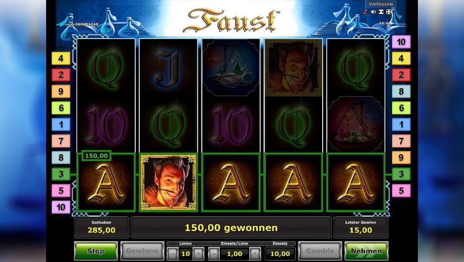 Spiele Faust - Video Slots Online