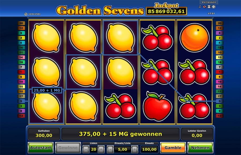 Golden Sevens Slot: Hier kostenlos und um echtes Geld ...