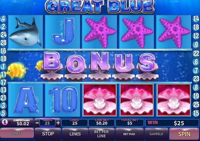 free online slots great blue
