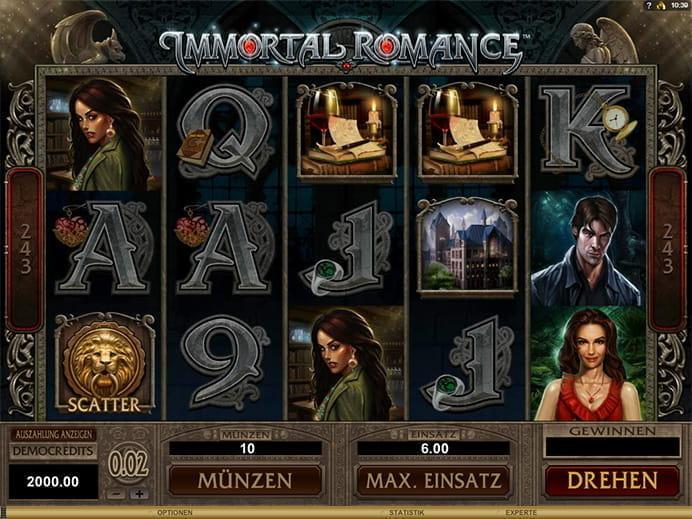 immortal romance spielen