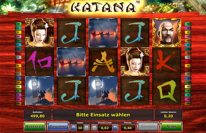 Spiele Katana - Video Slots Online
