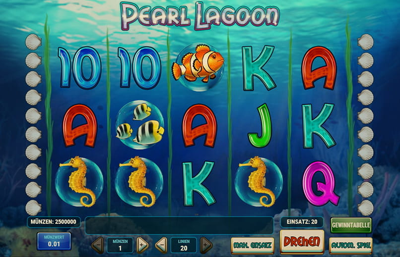 Spiele Pearl Lagoon - Video Slots Online