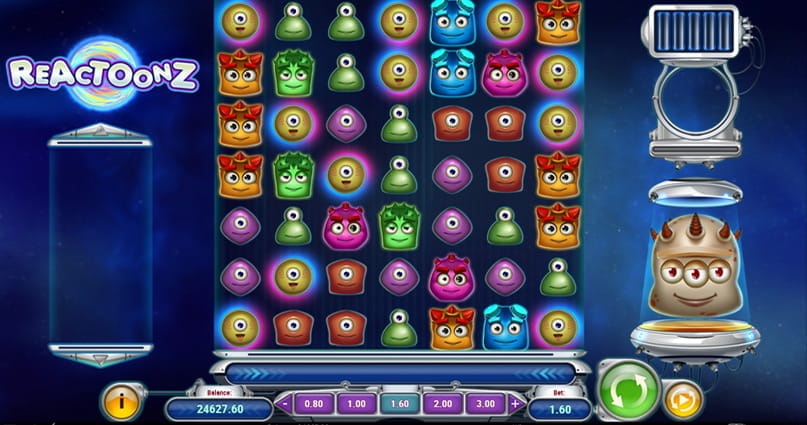 Spiele Reactoonz - Video Slots Online
