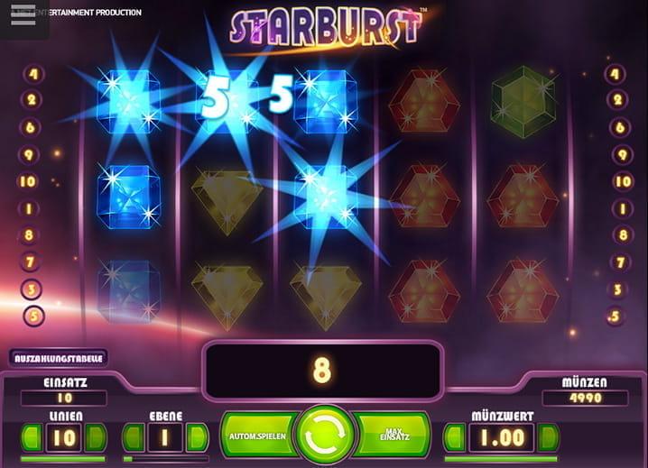 starburst slot spielen