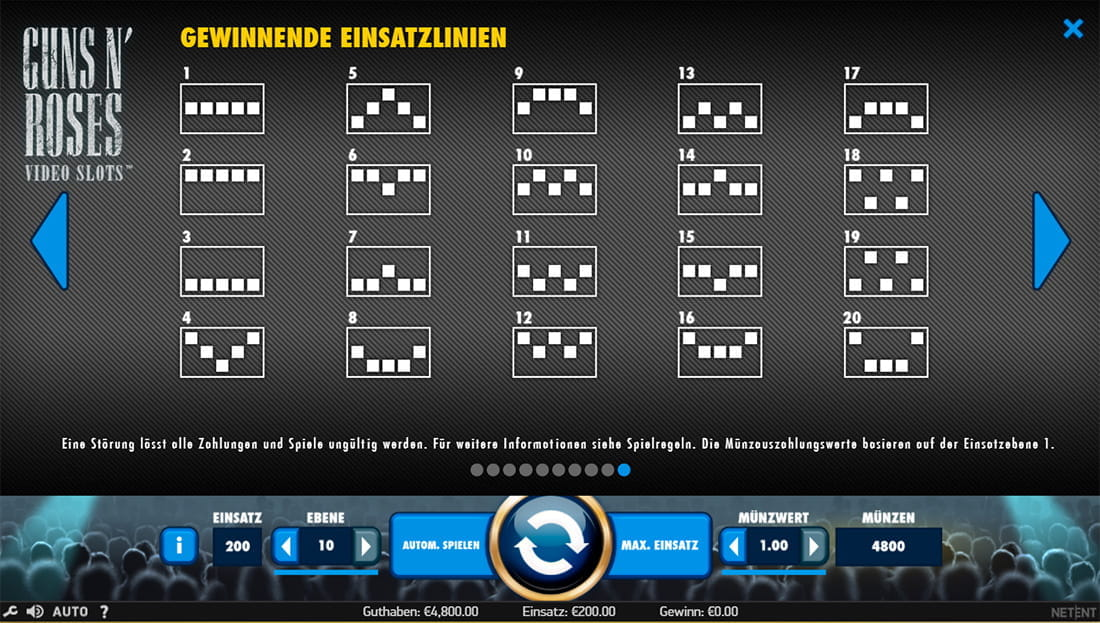 Slot Guns N' Roses –online kostenlos spielen