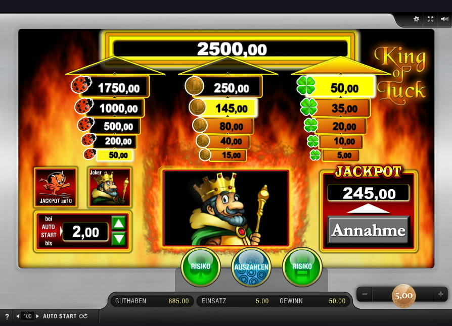 King Of Luck Online