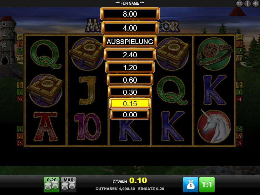 Magic Mirror Deluxe Slot - Spielen Sie dieses Online-Casino-Spiel gratis