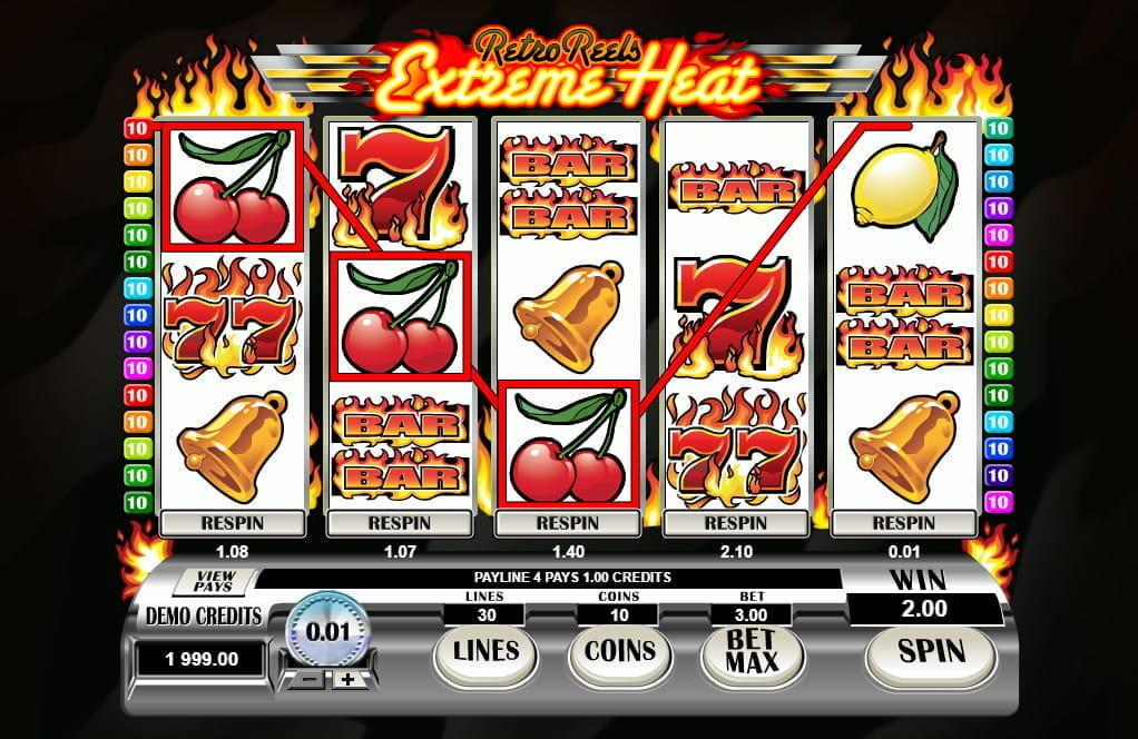 Spiele Retro Reels - Extreme Heat - Video Slots Online