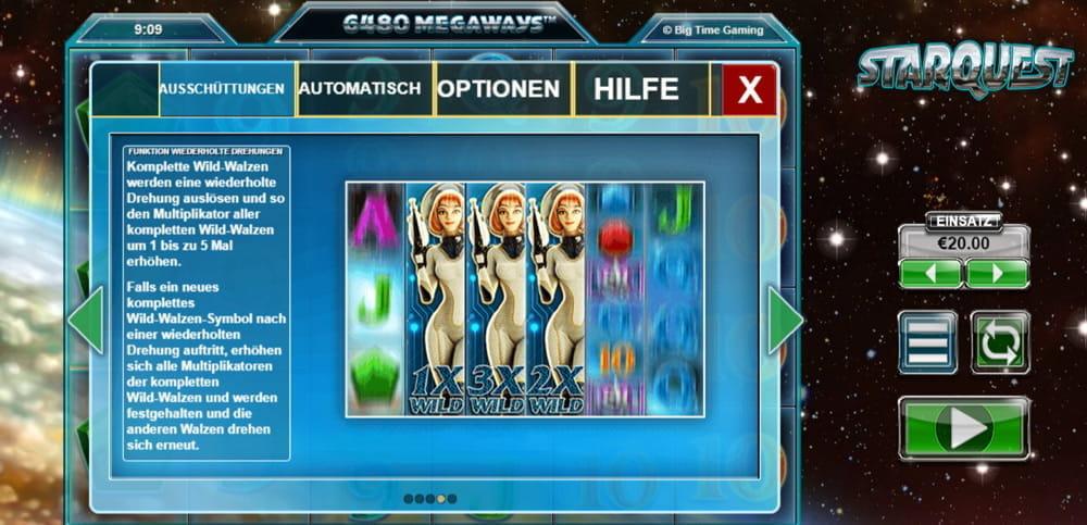 Spiele Starquest - Video Slots Online