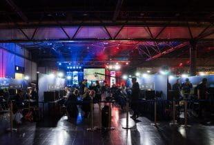 Panorama eines eSport-Turniers