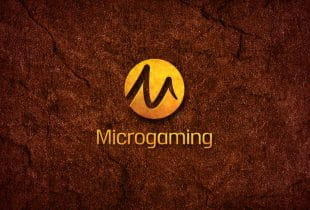 Das Logo des Softwareherstellers Microgaming.