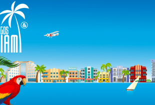 Ein Werbebild für die Juegos Miami.