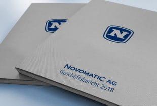 Der Geschäftsbericht der Novomatic AG aus dem Geschäftsjahr 2018