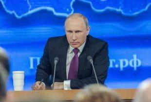 Der russische Ministerpräsident Putin.