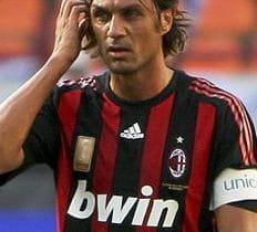 Paolo Maldini im Trikot des AC Mailand.