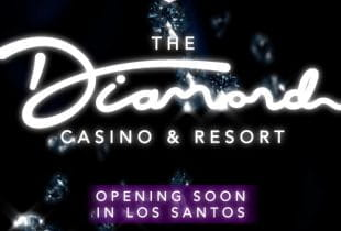 Logo des Diamond Casino aus GTA.