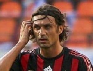 Paolo Maldini vom AC Mailand.