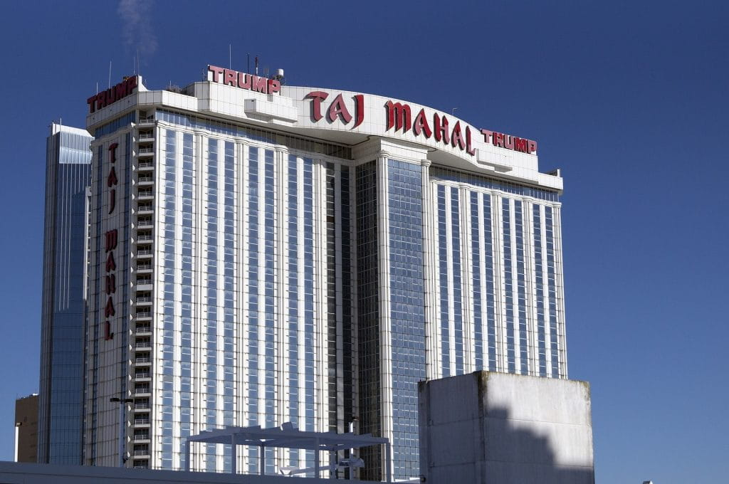 Taj Mahal in Atlantic City.