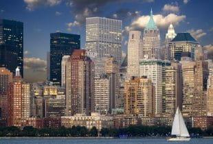 Skyline von Manhattan.