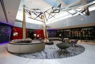 Innenraum eines Resorts in Las Vegas.